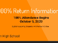 NUHS 100% Return Info