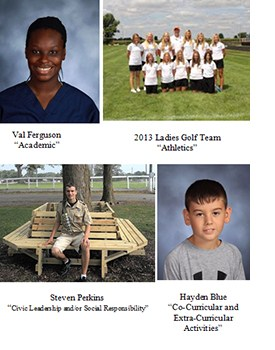 Congratulations to the Fall Celebrating Our Vision winners!