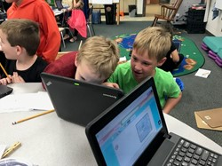 First Graders Research Animals