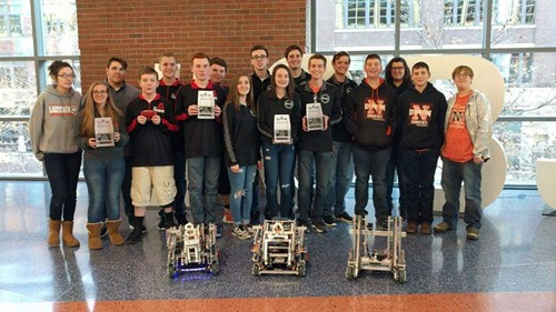 NUHS Competes at Nationwide Arena
