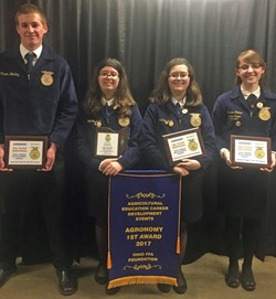 North Union FFA members capture State Title