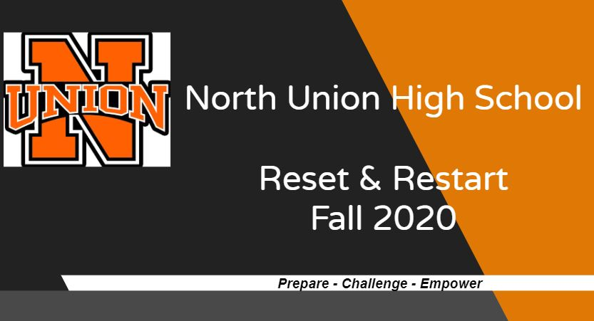 Welcome Back Information - NUHS Reset and Restart Fall 2020